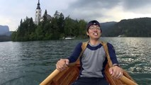 Slovenia - Bled 27 (Boating in Lake Bled)