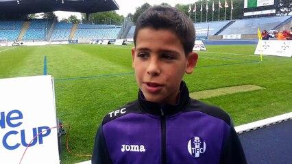 Interview du jeune Eddy Zuliani (U12 Toulouse FC)