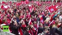Germany - FC Bayern celebrate Bundesliga title win at Munich town hall