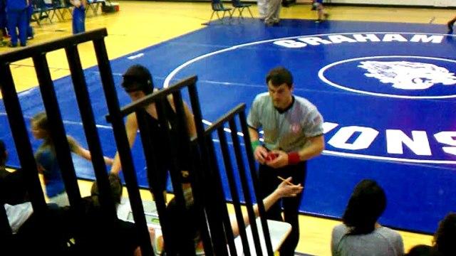 Potomac Middle vs. Graham Middle Wrestling 03-15-2012