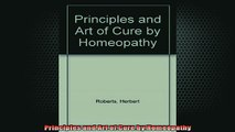 READ book  Principles and Art of Cure by Homeopathy Full EBook