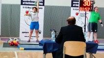 AKS Italian Team: Snatch 24kg 90 reps
