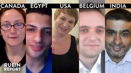 Rubin Report Fan Show: Egypt, India, Texas, Brussels, Canada