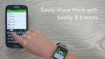 Listonic dla Samsung Gear