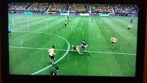 Marco Reus Borussia Dortmund FIFA 16 Career Mode vs Sp.Charleroi (PS3)