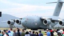 RAAF C-17 Avalon Airshow take Off 27 February 2015