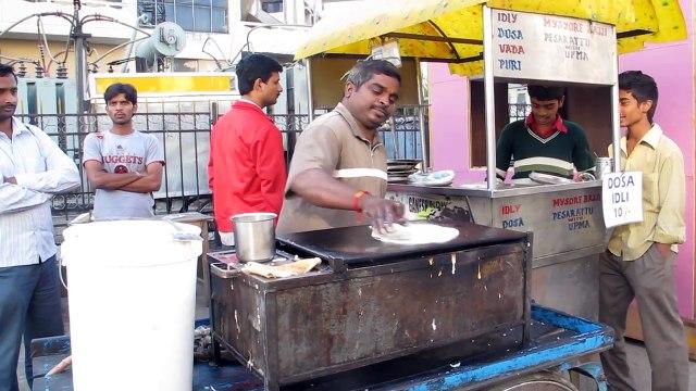 Indian Masala Dosa || Indian Food || Street Food in India || Indian Street Food