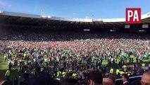 Disgraceful scenes at Hampden Park after Scottish Cup final