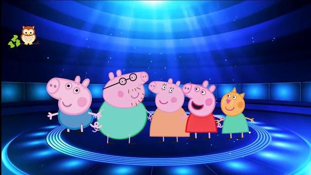 Peppa Pig Lanterna Verde Green  Family Finger / Dedo Peppa Pig Lanterna Verde verde de la familia