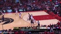 Bismack Biyombo Blocks Kyrie Irving _ Cavaliers vs Raptors _ Game 3 _ May 21, 2016 _ NBA Playoffs
