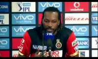 KKR vs RCB - 'AB De Villiers, Virat Kohli are like Batman and Superman'- Chris Gayle - IPL 2016.