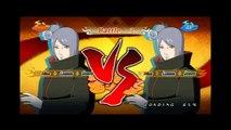 Naruto Shippuden Ultimate Ninja Storm 2 Konan vs Konan