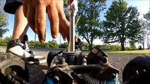 Gopro Hero Silver 3+ on Nitro RC CAR 4X Speed I RC RACING I Traxxas