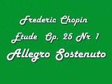 Fréderic Chopin -- Étude Op. 25 Nr 1 - Allegro sostenuto; Piano: Yefer Blancas