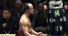 Takanoyama vs Wakakoyu Day 15 Sumo Hatsu Basho January 2014
