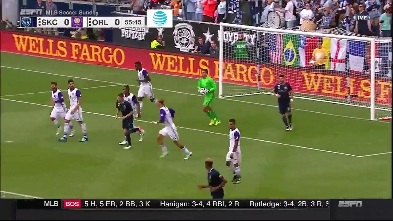 Sporting KC vs. Orlando City SC 2016 MLS Highlights