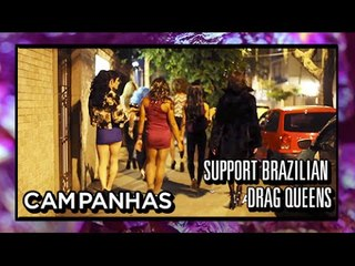 DRAG-SE - support brazilian drag queens