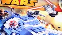 Lego Star Wars Anakins Custom Jedi Starfighter Speed Build Review (75087)