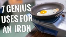 7 Genius Uses For An IRON You Have To Try!
