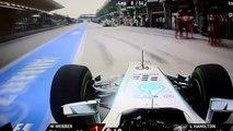Quand tu t'arrêtes au mauvais stand avec ta Formule 1... Bravo Lewis Hamilton