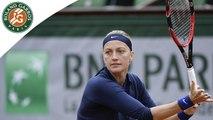 Temps forts Kvitova - Kovinic Roland-Garros 2016 / 1er tour