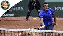 Temps forts Kyrgios - Cecchinato Roland-Garros 2016 / 1 Tour