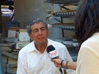 Octavio Augusto Mora, propietario Franquicia Disomova en Bahía de Caráquez