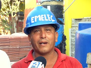Jacinto Chancai, trabajador de Disomova Bahía de Caráquez
