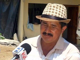 Manuel Párraga, trabajador camaronera CONSEXPORT San Vicente