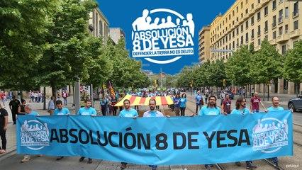 #Absolucion8deYesa - Vídeo resumen de la manifestación en Zaragoza