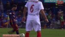 Barcelona Champions Goal Alba & Neymar Barcelona 2 - 0 Sevilla