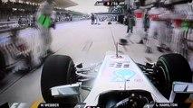 Quand tu t arrê au mauvais stand avec ta Formule 1... Bravo Lewis Hamilton