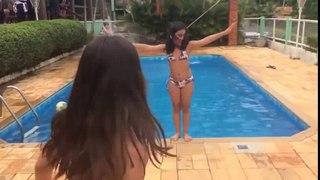 Desafio da piscina O FANTASTICO MUNDO DA BIA HD