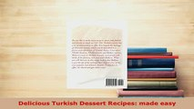 PDF  Delicious Turkish Dessert Recipes made easy Free Books