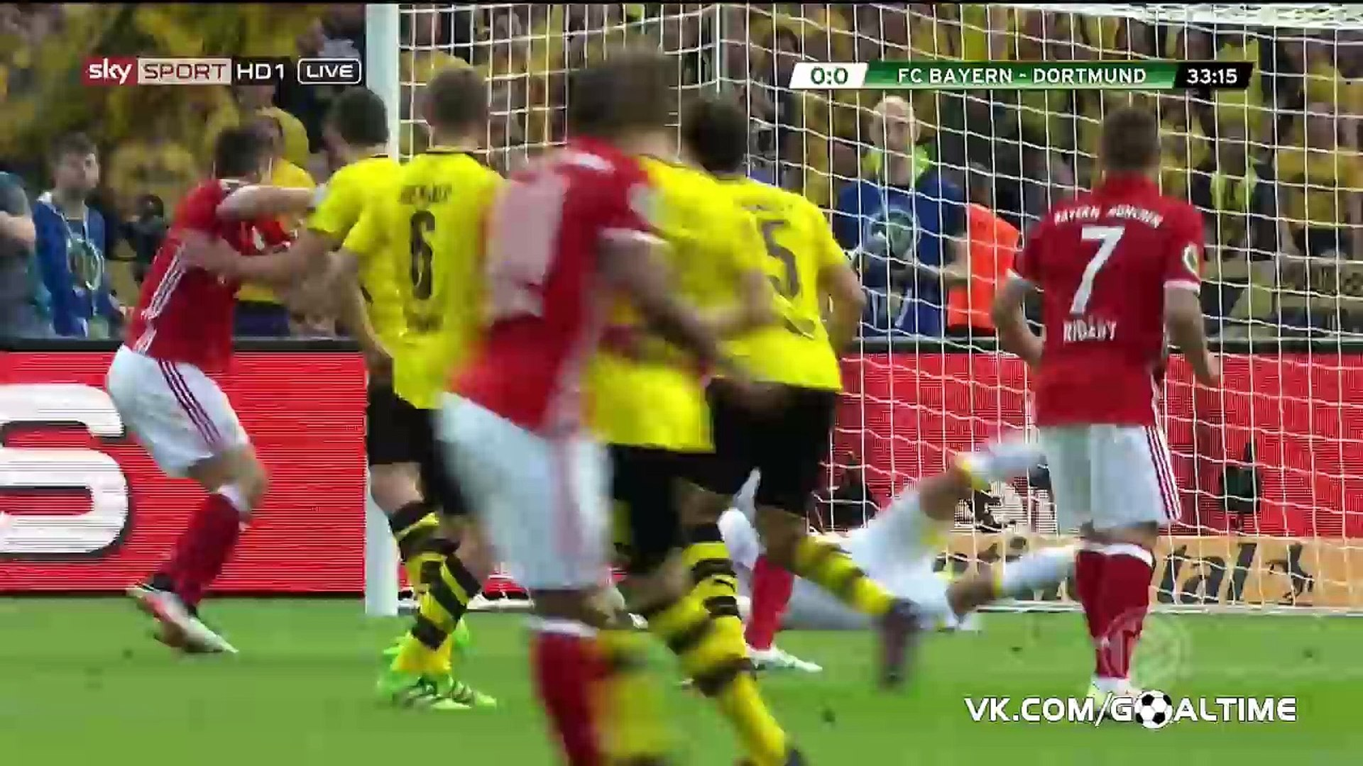 Обзор матча бавария боруссия финал кубка германии
