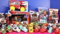 Huge Disney Cars Mater Collection With Batman Mater Robin Mater Hulk Mater & More