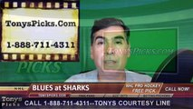 St Louis Blues vs. San Jose Sharks Pick Prediction NHL Playoffs Game 4 Odds Preview