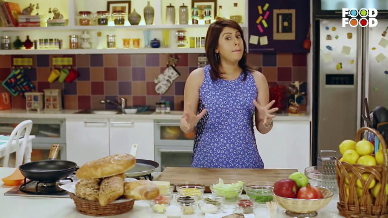 Mummy Ka Magic – Cheese Sandwich Recipe – Amrita Raichand