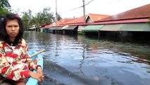 พฤกษา 3 น้ำท่วม ล่าสุด 29 ตุลาคม 2554 part 4