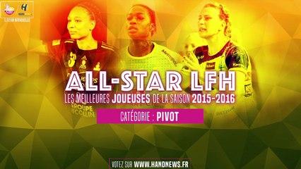 All star LFH 2015-2016 - Nominées Pivot