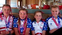 2012 USA Cycling 24-Hour Mountain Bike junior women's team national champions