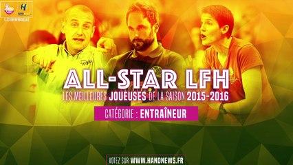 All star LFH 2015-2016 - Nominés Entraîneur