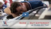 AC CLASS TEST - Same same … but different … but still the same