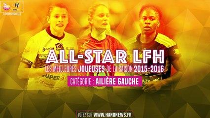 All star LFH 2015-2016 - Nominées Ailière gauche