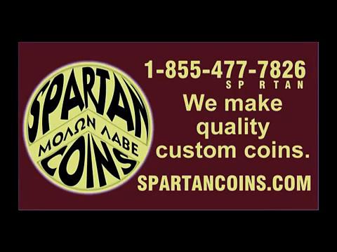 Custom Coin Maker – SPARTANcoins.com