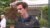 Andy Murray «La confiance est haute avant Roland-Garros»