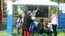 Le DP-Bus du débat public EuropaCity à Villiers-le-Bel