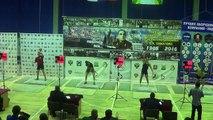 Morozov Igor Snatch 171 reps Cup of Pikalova 2016 / Морозов Игорь Рывок 32 кг 171 раз в.к. 95 кг