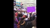 Justin Bieber fans Thousands march in Argentina Beliebers upset #JustinBieber