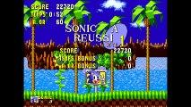 Sonic : The HedgeHog - Une petite partie de Sonic sa fait toujours plaisir - Monkey-Game (Solo) (23/05/2016 12:55)